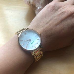 Kate Spade Gramercy Bracelet Watch in rose gold